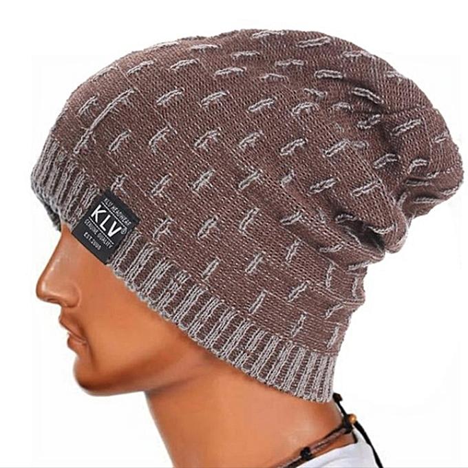 e33f2a58dea Fashion Men Women Newsboy Cap Autumn Winter Hat Fashion Knit Outdoor ...