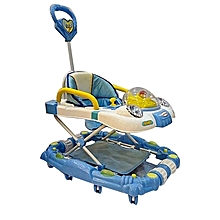 3 in 1 Baby Walker/Rocker -  Blue.