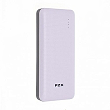 Portable Smart Power Bank 18000 mAH - White