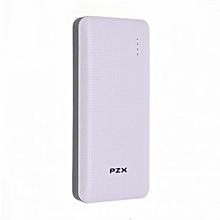 Portable Smart Power Bank 18000 mAH - White
