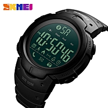 SKMEI 1301 Bluetooth Calorie Pedometer Smart Watch for Men LED Shock Resistant Military Multifunction Electronic Digital Watches By HonTai