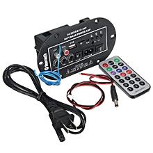 50W Car Bluetooth Subwoofer Hi-Fi Bass Amplifier Board Audio TF USB 220V/12V/24V