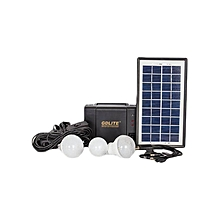GDLITE Solar Lighting System – Black