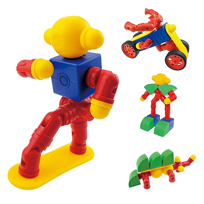 Construction Toys Product : Generic magfun pcs diy d magnetic construction toy