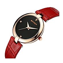Fashion Wrist Watch - Red