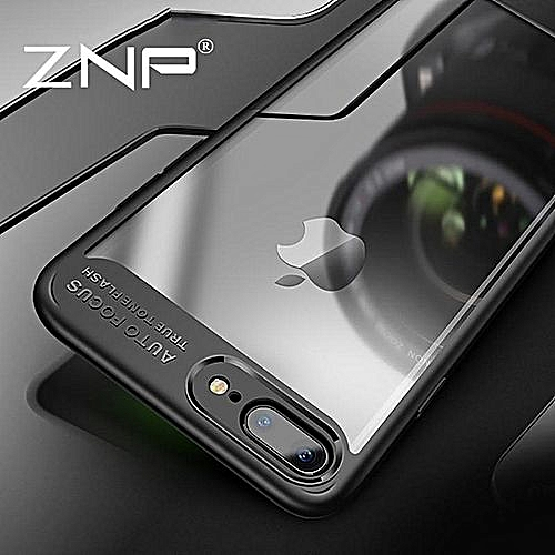 size 40 aa782 bcc8d For Iphone 8 Plus Case Crystal Clear Back Cases Camera Protection Hybrid  Transparent Ultra-thin Soft Cover For Iphone8 P