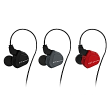 TRN V20 In ear DD+BA Hybrid HIFI 2Pin Earphone with Microphone Line Control