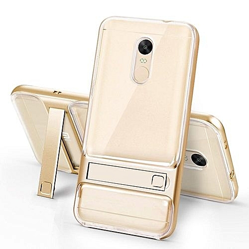 Buy Mooncase Redmi Note 4X ,MOONCASE Transparent Dual Layer Hybrid ...