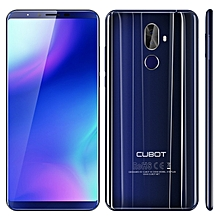 X18 Plus 4GB+64GB Dual Back Cameras 4000mAh Battery 5.99 inch Android 8.0 MTK6750T Octa-Core up to 1.5GHz 4G Smartphone(Blue)