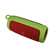 Silicone Wireless Bluetooth Speaker Cover Case Bag Protect For JBL Charge3 -Green
