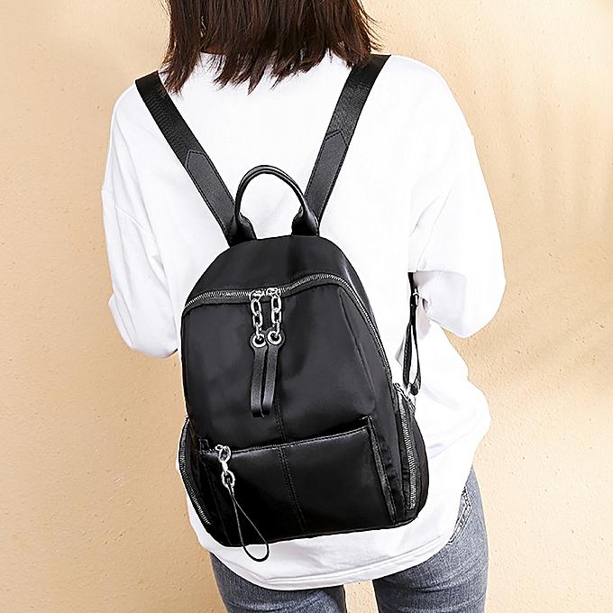 df56b1d8b6ab koaisd Women Joker Shoulder Bag Casual Oxford Cloth Simple Large Capacity  Backpack