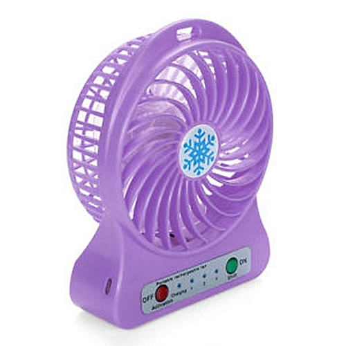 Portable Rechargeable Led Fan Air Cooler Mini Operated
