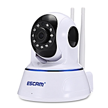 ESCAM QF003 1080P WiFi IP Camera with Pan / Tilt Monitoring-WHITE
