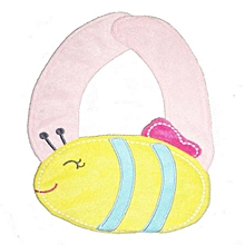 Baby Kids Infant Animal Toddler Cartoon Saliva Towel Lunch Bibs ?-Yellow