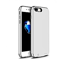 Rechargeable battery case for iPhone 6 and 6s - Silver.