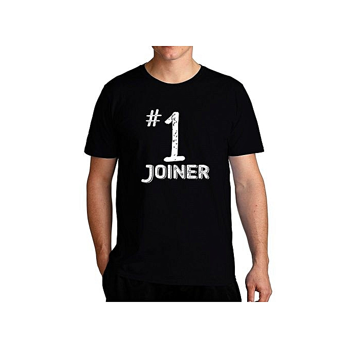 Number 1 Joiner Fashion Cool T-Shirt For Men