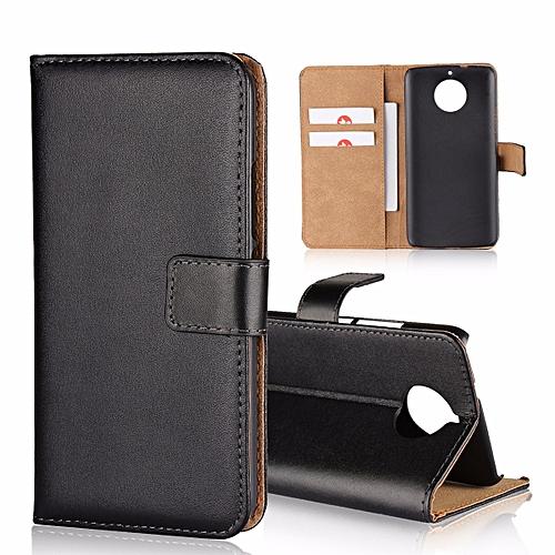 0ee981ac0520 Buy Generic Genuine Leather Wallet Case Cover For Motorola Moto G5S ...