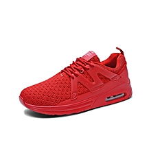 Men Air Cushion Sports Shoes Running Casual Shoes Low Cut