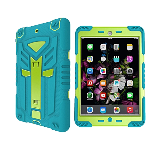 detailed look 83023 cb260 New iPad air 2 / iPad 6 / 2016 iPad Pro (9.7) Case, Transformer Hybrid  Protective Case Cover Full Body Shockproof Case With Kickstand for Apple  iPad ...