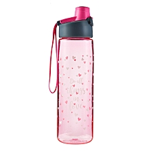 Do All Things in Love Plastic Water Bottle