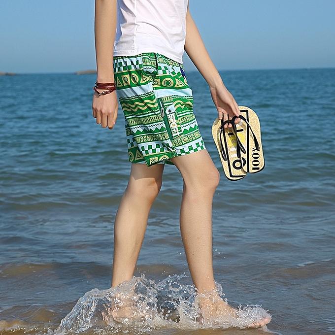 56b92f10a1 ... Men's Stripe Swim Trunks Quick Dry Casual Swim Shorts - MULTI-B ...
