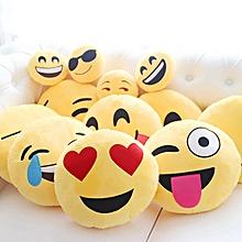 New Cute Emoji Expression Throw Cotton Pillow Stuffed Plush Sofa Bed Cushion