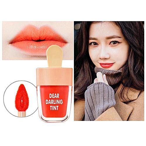 Generic NOVO Cute Ice Cream Lip Tint Makeup Korean Style Red Liquid Matte Lipstick Pigment Lasting Moisturizer Lipgloss Cosmetics(#6)
