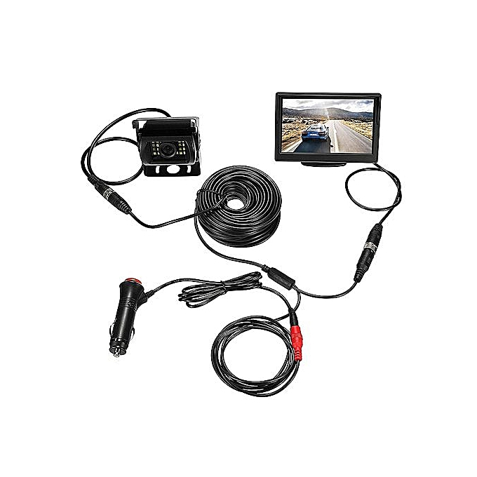 Generic High Quality Ir Rear View Camera 5 Lcd Monitor Best