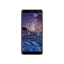 7 Plus 6-Inch (4GB, 64GB ROM) Android ,12MP + 13MP Dual SIM Smartphone - Black /Copper