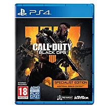 PS4 Game Call Of Duty Black Ops 4 Specialist Edition