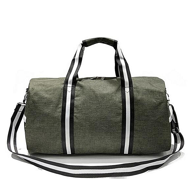 ddb04d0925 Duffle Bag Retro Vintage Canvas Holdall Gym Hand Luggage Weekend Overnight  NEW