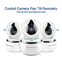 HD 720P WiFi  Home Security IP Camera Wireless Cloud Camera Night Vision (Included 64G TF Card)