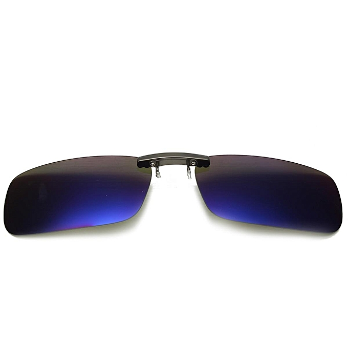 Polarized Day Night Vision Clip-on Flip-up Lens Driving Glasses Sunglasses  HOT 572a94f3dc5a