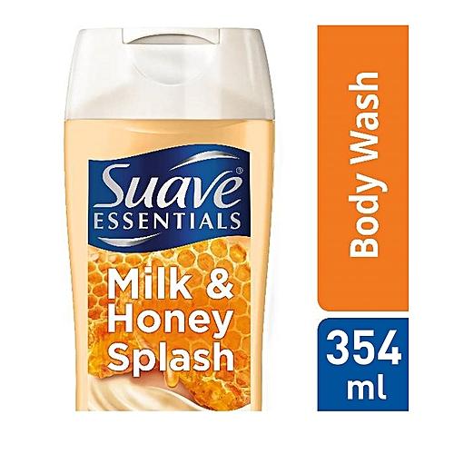 Essentials Milk & Honey Splash Creamy Bodywash (354ml)