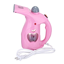 Handheld Steamer Portable Garment Clothing Clothes Iron Machine For Travel Home Pink