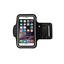 Armband Gym Running Sport Arm Band Cover Case For All Phones 4.7Inch -Black