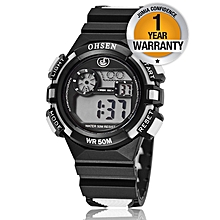 Kids Sports Watch - Black and White