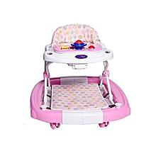 2 in 1 Baby Walker - Pink