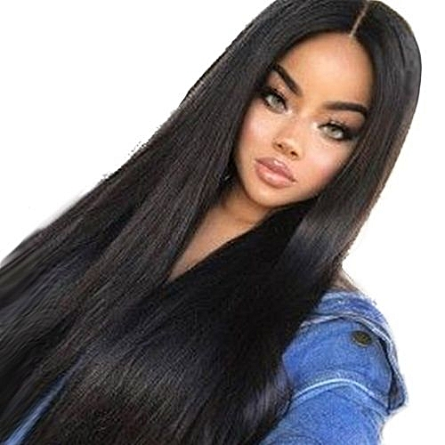 Buy Qibest Bluerdream Women Long Black Front Hairstyle Synthetic
