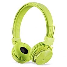 ZB-JAZZ BEATZ - 4 in 1 Wireless Bluetooth Headphone with TF/FM/AUX - Green