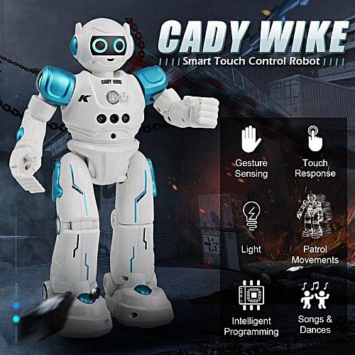 JJRC R11 Gestures Sensing Dancing Intelligent Remote Control Robot Toy Gift  (Blue) XJMALL
