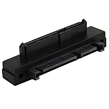 Universal SFF-8482 SAS To SATA 90 Degree Angle Adapter Converter Head black