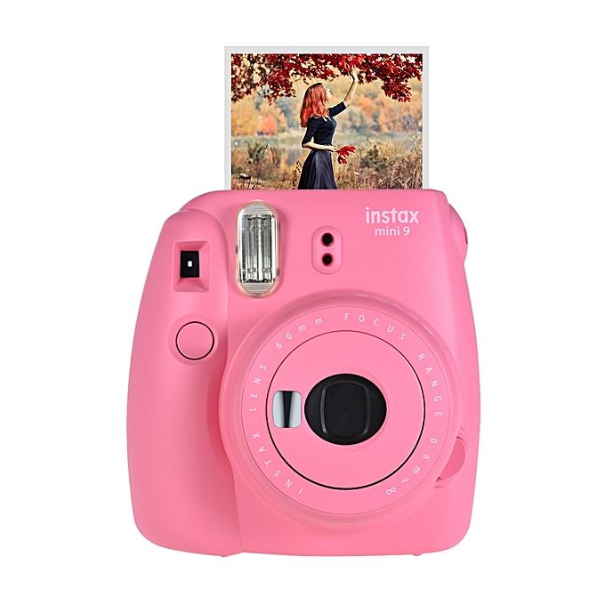 Instax Mini 9 Instant Camera Film Cam with Selfie Mirror