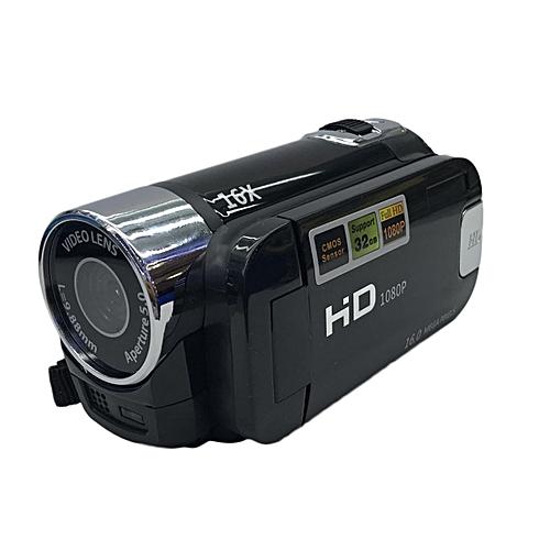 OR HD-100 Full HD 1080P Digital Video Camera 2.7 Inch TFT Display 16.0MP Mini DV-black