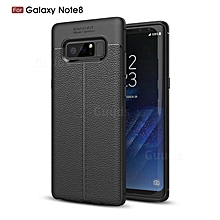 Black rubber Phone cover for Galaxy Note8