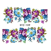 Hequeen Water Transfer Nail Art Stickers Decal Cute Horse Galloping Design DIY French Manicure Foils Stamping Tools