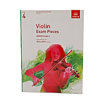 Violin Exam Pieces – Grade 4 - White