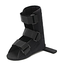 Adjustable Foot Ankle Brace Fracture Recovery Night Splint Plantar Support Guard LeftM