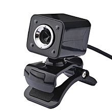 High Quality USB Web Camera 720P HD Computer Camera Webcams 640*480 Resolution black