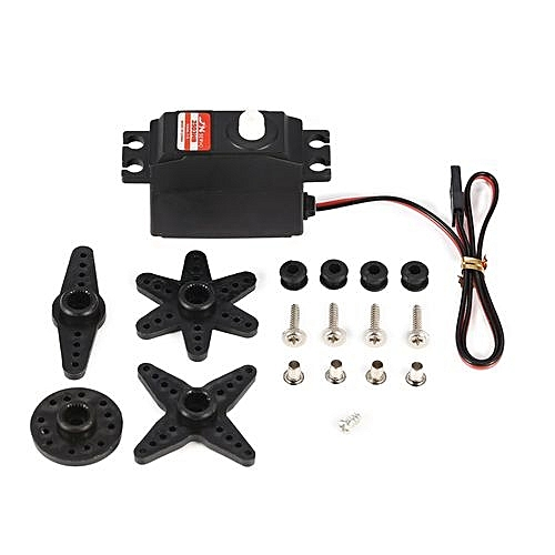 OR JX PS-2503HB 3KG 4 8V-6V Analog Plastic Gear Mini Servo For 1/12 RC  Car-Black